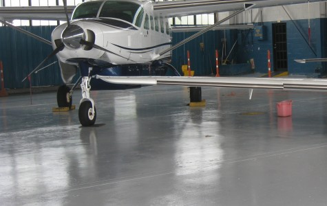 Piso para Hangar